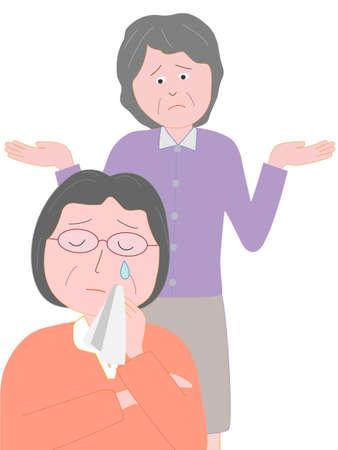 Problemen van de ouderen