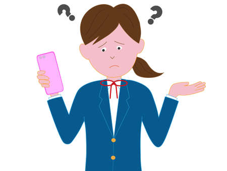Students have difficulties working with smart phones