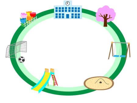nursery tale: Spring School of the title frame