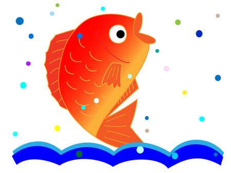 Sea bream Illustration