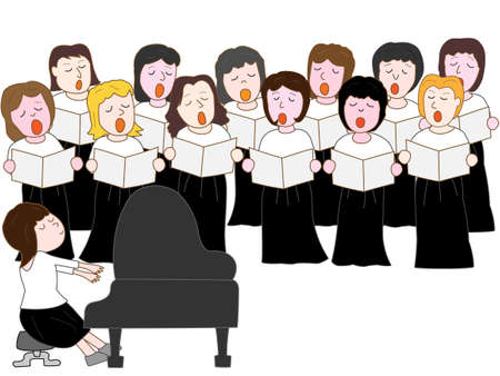Women's choir concert
