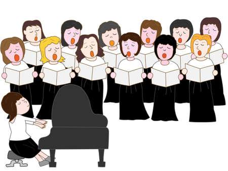Womens choir concert