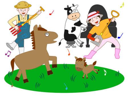 chorus: Concert pasture