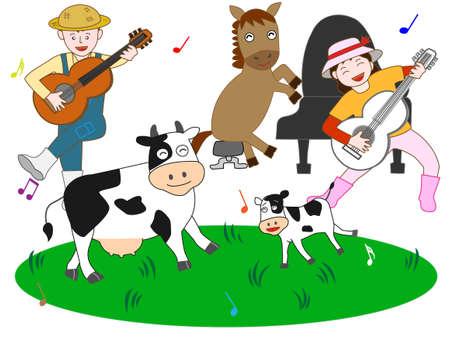 Concert pasture