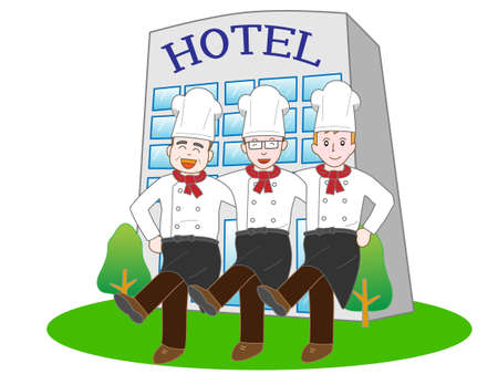 Guests of the hotels Cook
