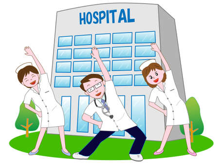 home care nurse: Exercise Illustration