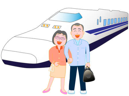 shinkansen: Travel Illustration