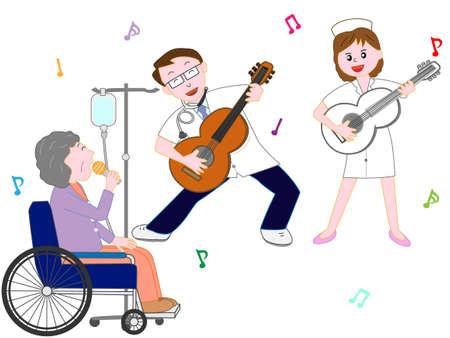Concert in het ziekenhuis