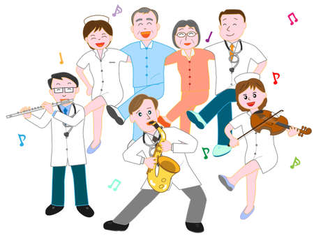 Concert at the hospital