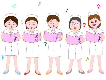 Chorus of nurses