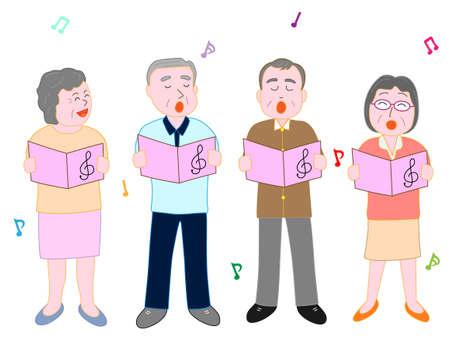 高齢者のためのコンサート