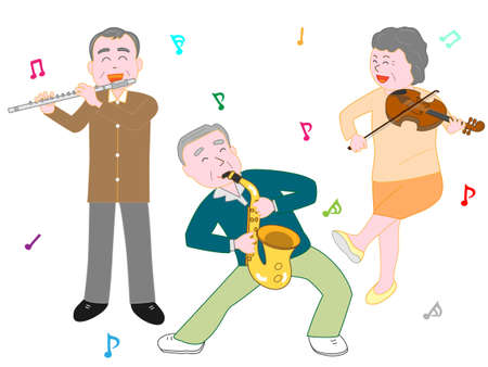 Concert for the elderly