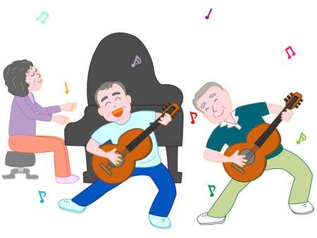 chorus: Concert for the elderly