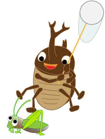 Beetle bug fix. Illustration