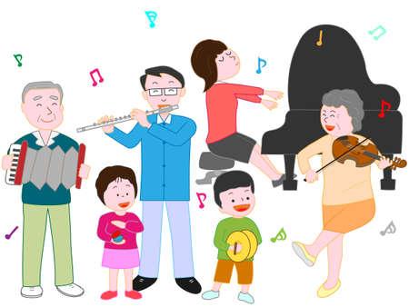 clarinete: Concierto familiar