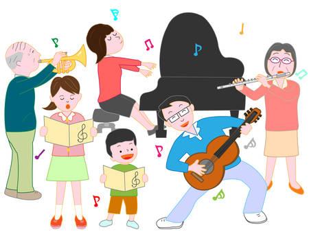 chorus: Family concert