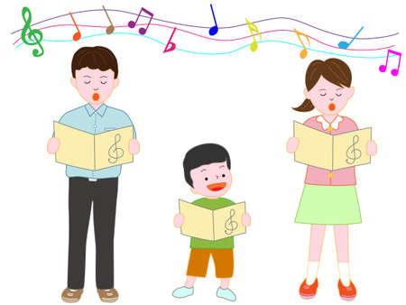 Childrens Chorus Illustration