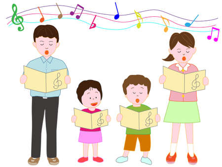 Childrens Chorus Illustration