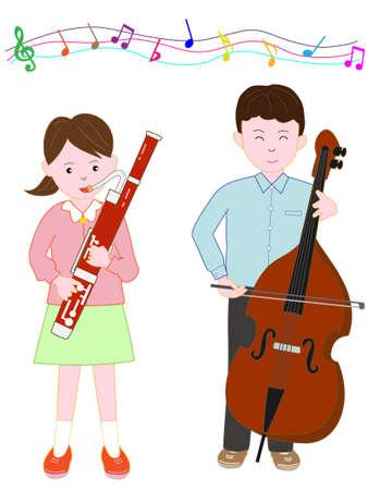 clarinete: Concierto de hermanos y hermanas