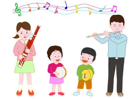 Concert pour enfants Banque d'images - 80845161