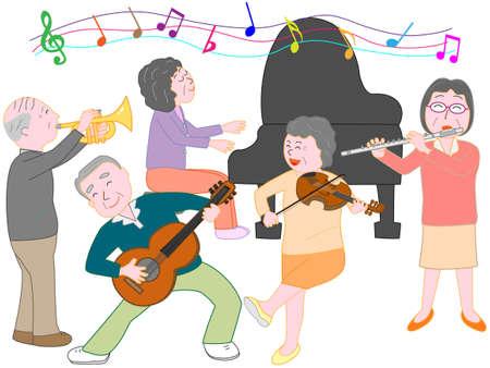 nursing association: Concert for the elderly
