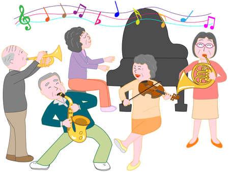 Concert pour les personnes âgées