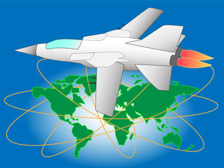 A Fighter illustration.