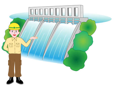 Description of the dam workers