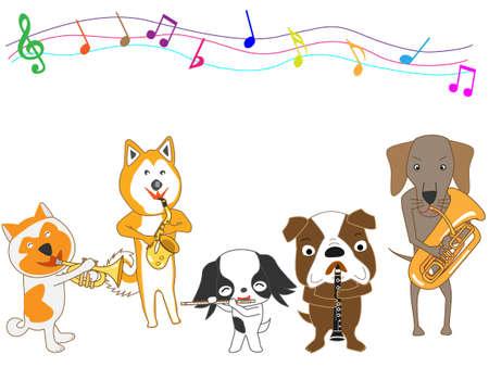 犬コンサート