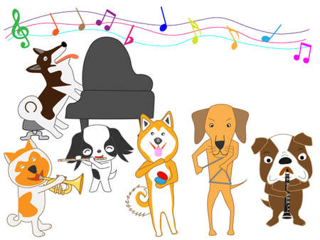 clarinete: Concierto de perros