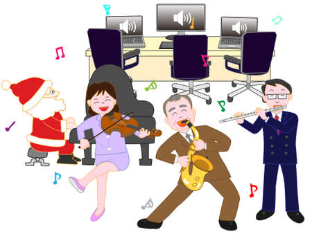 Corporate Christmas concert