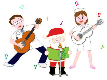 chorus: Medical staffs Christmas concert