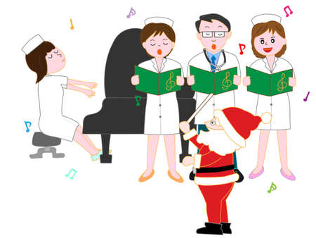 Medical staffs Christmas concert