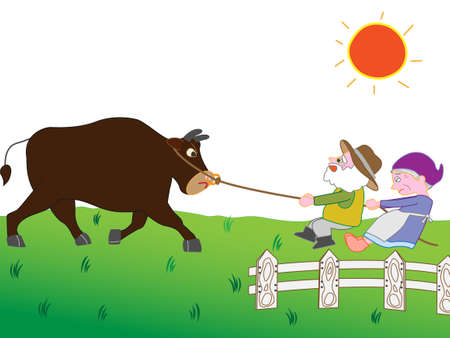 To take care of the cattle livestock and family