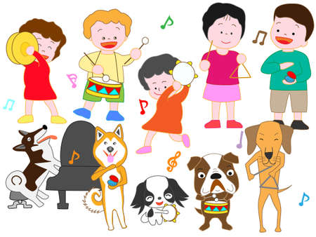 Concert for children and dogs
