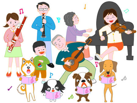 Pet and family concerts