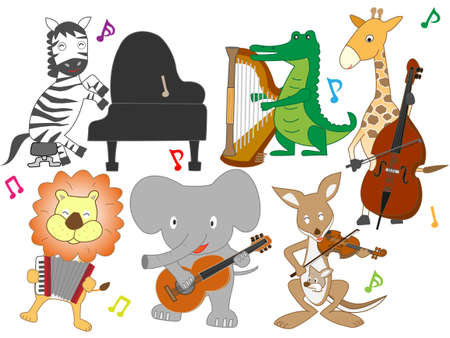 The concert of the animal.