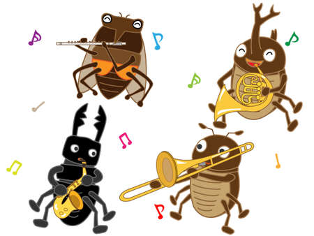The concert of the insects.