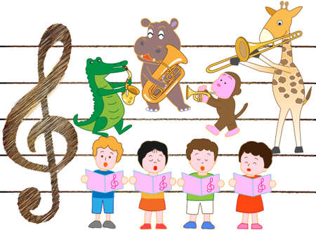 Animals and childrens concerts