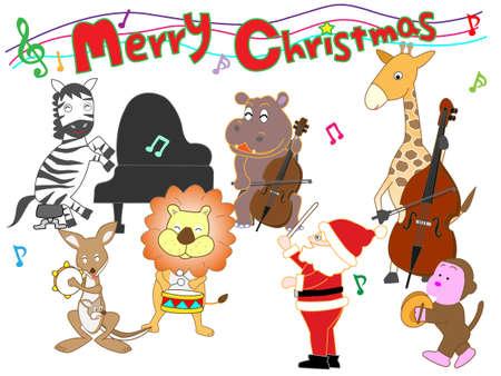 Concierto de Navidad en el zoológico