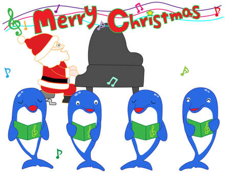 Dolphins Christmas show