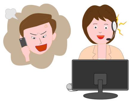 Réclamations des consommateurs pour un bon centre client pour les femmes.