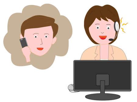 Consumer claims for good customer Center for women. 版權商用圖片 - 112719102