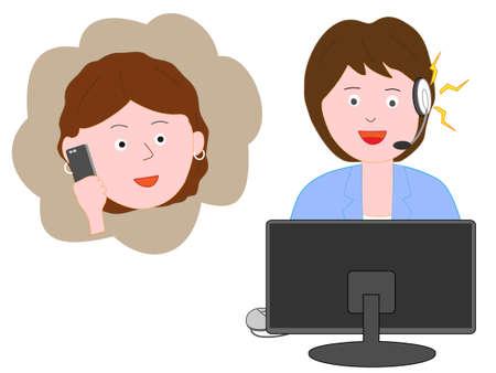 Centre client des plaintes des consommateurs contre le personnel.