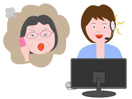 Les plaintes des clients des consommateurs pour les femmes.