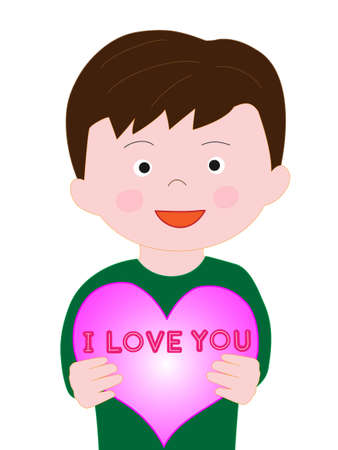 Boy confesses the love on Valentines day
