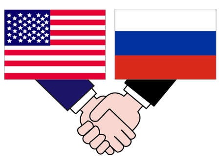 Represents the State of diplomacy with the country. The relationship between the United States and Russia.