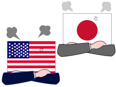 The foreign countries. Describing the relationship between the United States and Japan.