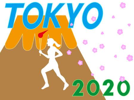 Image of Tokyo sport  イラスト・ベクター素材