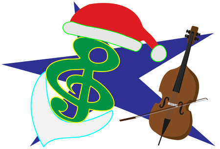 Christmas Concert Posters Illustration